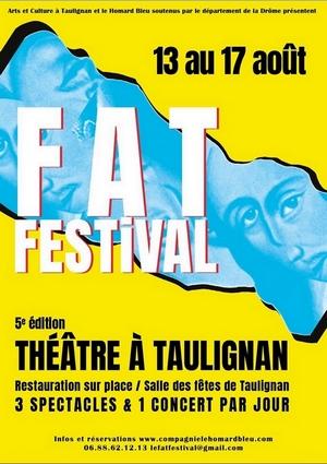 Festival Théâtre à Taulignan du 13 au 17 aout 2019